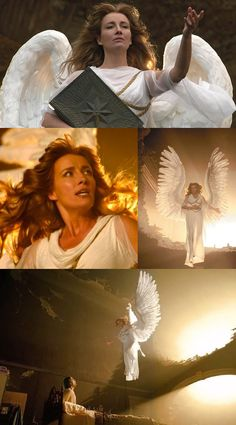 Emma Thompson in in Angels in America (2003)