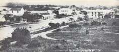 The Town Gardens, Farewell Square and a view of West Street, Durban, 1864 Durban South Africa, Kwazulu Natal, Historical Society, Beach Fun, Paris Skyline, Past, Ocean, Graham, History