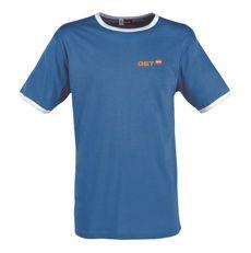 #Tshirt heren single jersey breisel van #katoen - Bedrukken met eigen logo of tekst op Bedrukken.nl