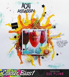 Acai Assassin | Colour Blast | Sue Plumb