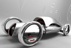 concept+cars | Futuristic Audi concept car uses hydrogen for zero-emission propulsion ...
