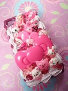 Kawaii Friends Sweet Decoden Deco Case for iPhone 4 by Lucifurious, $42.00