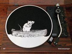 Turntable Slipmat: Ratboat