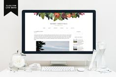 Free Monthly Blogger Template | December - Designer Blogs