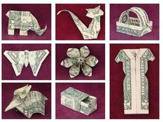 What a way to give a gift of money:for Christmas,birthdays or tooth fairies!