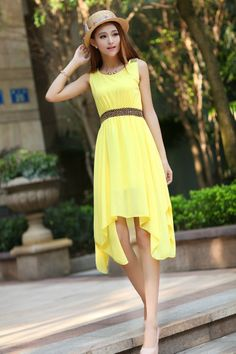 http://www.aliexpress.com/store/product/Fashion-Ladies-Solid-Color-Chiffon-Summer-Dress-2014-Sleeveless-Women-s-Dresses-novelty-casual-sleeveless-irregular/1088712_1877348108.html