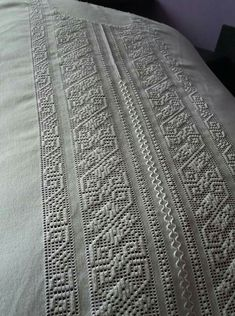 Needlework, Embroidery, Blanket, Embroidered Towels, Table Toppers, Hardanger, Dots, Tejidos, Clothing