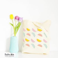 Hey, I found this really awesome Etsy listing at https://www.etsy.com/listing/227523889/tote-bag-watermelon