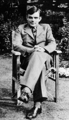 Alan Turing, English mathematician, wartime code-breaker and pioneer of computer science.1912-1954