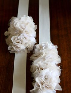 DIY ruffled headband or belt