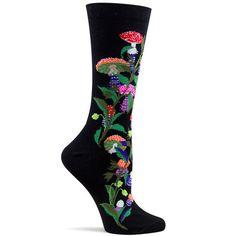 ozone design womens amanita muscaria sock – Ozone Design Inc