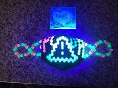 Kandi Mask Patterns, Purse Patterns, Bracelet Patterns, Beading Patterns, Diy Kandi Bracelets, Kandi Cuff, Scene Kids, Kawaii Stuff, Birthday Board