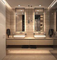 9 Design Tips for a Modern Bathroom Makeover - MV Interiors London Bathroom Design Luxury, Modern Bathroom Design, Modern Bathrooms, Modern Bathroom Furniture, Master Bathrooms, Bathroom Designs, Modern Bathroom Inspiration, Modern Luxury Bathroom, Modern Design