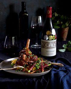 Lamb shanks in red wine