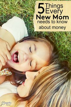 When you become a #mom your world changes drastically - especially where money is concerned.  Remember these 5 things to keep yourself sane: http://www.magnifymoney.com/blog/life-events/5-things-every-new-mom-needs-know-money675113206