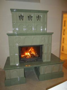 Sweet Home, House Design, Stoves, Fireplaces, Terracotta, Home Decor, Fireplace Set, Fire Places, Decoration Home
