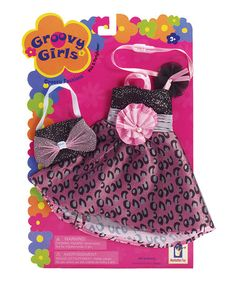 Pink & Partylicious Outfit for Groovy Girls Dolls #zulily #zulilyfinds