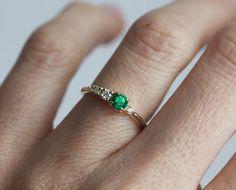 Die 8 Besten Bilder Von Turmalin Ring Rings 18k Gold Und Green
