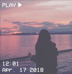 M O O N V E I N S 1 0 1 #vhs #aesthetic #girl #ocean #sea #pink #blue #clouds #sky #sunset If you want a vhs edit please message me the following: -A picture (which you want to be edited) -A time and date -A certain quote/name (optional)