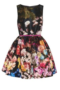 Garden of Delights: Designers' Latest Romance With Florals. Valentino dress.