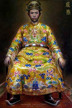 Chân dung vua Thành Thái (Tranh minh họa)