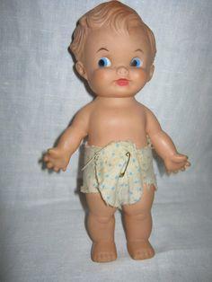 1950s Vinyl Doll Baby Boy