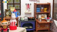 Moomin House, Moomin Valley, Rement, Miniture Things, American Girl, Vintage Antiques, Liquor Cabinet, Addiction, Recycling