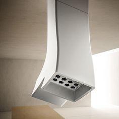Hotte de cuisine d'angle / avec éclairage intégré - HYDRA - Elica