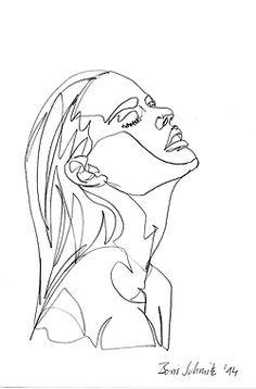 Female profile line drawing                                                                                                                                                      More