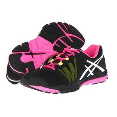 ASICS GEL-Craze TR Women's Running Shoes - Black/White/Hot Pink