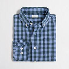 ec6b43264 Boys' patterned washed shirt - Boys' Shirts | J.Crew