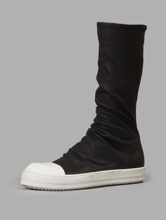 e5a23b4fb93 RICK OWENS Rick Owens Women S Black Sock Sneakers.  rickowens  shoes   sneakers