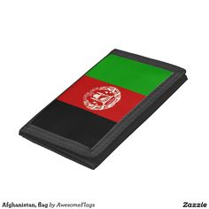 Afghanistan, flag trifold wallets
