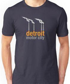 Detroit Motor City Unisex T-Shirt