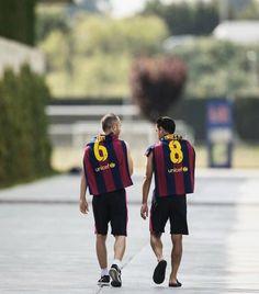 Xavi & Iniesta