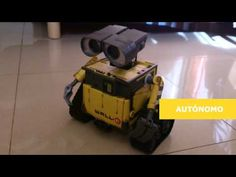 Guys over at DIYMakers have created a very responsive and cute Arduino controlled Wall-e robot that was initially a lifeless Wall-e toy purchased from an online store. Wall E, Arduino Projects, Electronics Projects, Learn Robotics, Alcohol Dispenser, Birthday Wishes, Pixar, Toys, Cute