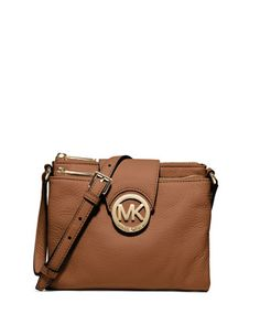 MICHAEL Michael Kors  Large Fulton Pebbled Crossbody....Definitely want this, but the smaller one. This one is just too large for me.