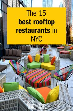 From alfresco pizza to Vietnamese pub grub with a view, look up to find the best rooftop restaurants NYC has to offer. Rooftop Restaurants Nyc, Restaurants For Birthdays, New York Christmas, Rooftop Garden, New York Travel, Nice View, Pizza, Rooftops, Shanghai