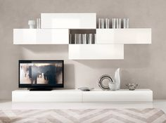 Modern Wall Unit Spar Logika LK14 - $2,749.00 - modern - Living Room ...