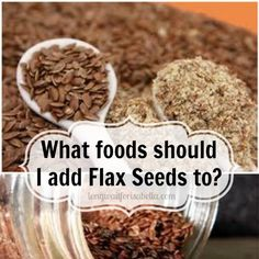 What to Do with Flax Seed Meal - Long Wait For Isabella