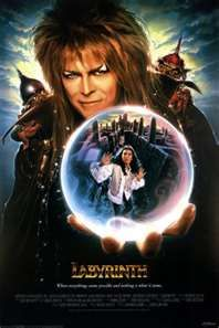 "Jim Henson's ""Labyrinth""  (1986)The story centers around Sarah, a young girl who accidentally gives her little brother to the goblins. Sarah must go on a quest through the treacherous labyrinth, through dangers and hardships, to fight her way to the castle beyond the Goblin City. Along the way she'll have to face the Bog of Eternal Stench, and all kinds of traps, beasts, and goblin tricks."