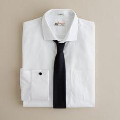 modern skinny tie look. literally love this