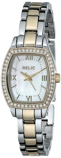 Relic by Fossil Women's Lillian Analog Display Analog Quartz Multi-Color Watch Relic Watches, Fossil, Rolex, Quartz, Display, Silver, Image, Accessories, Floor Space