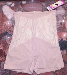 SPANX Women/'s Nude Shaping Boy Shorts Sz A $50 NWOT