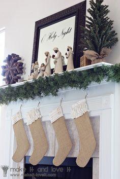 7 adorable handmade Christmas stockings | #BabyCenterBlog