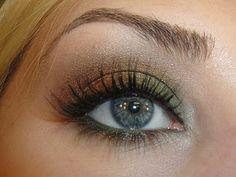 Fall Smokey Eye Makeup Tutorial: Changing Leaves