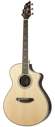 Knowledgeable Breedlove Stage Exotic Concerto E Acoustic Guitar W/ Gigbag Moderate Cost Acoustic Electric Guitars Musical Instruments & Gear