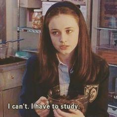 things Study like Rory Gilmore // us motivatio - Gilmore Girls, Rory Gilmore Style, Lorelai Gilmore, Study Motivation Quotes, Study Quotes, Coran, Study Hard, Study Inspiration, Med School