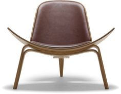 CH07 lounge  Design Hans Wegner, 1963  Form-pressed plywood, upholstery  Made in Denmark by Carl Hansen & Son. I want. I need.