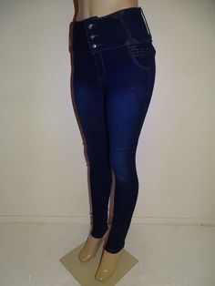 Diamante Brazilian Push up Butt Lift Levanta Cola Colombian Navy Dark Blue Jeans #Diamante #SlimSkinny